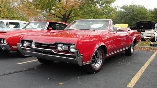 1967 Oldsmobile Olds Cutlass 442 Convertible in Red Paint - My Car Story with Lou Costabile