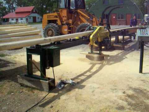 Rail Splitting Saw Video Mpg Youtube