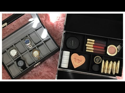 Songmics Watch Box & Cosmetic Case Review!
