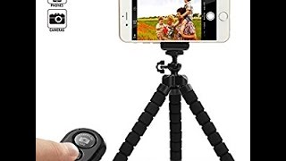 KCOOL Octopus Style Portable and Adjustable Tripod for IPhone and Cellphones with Remote