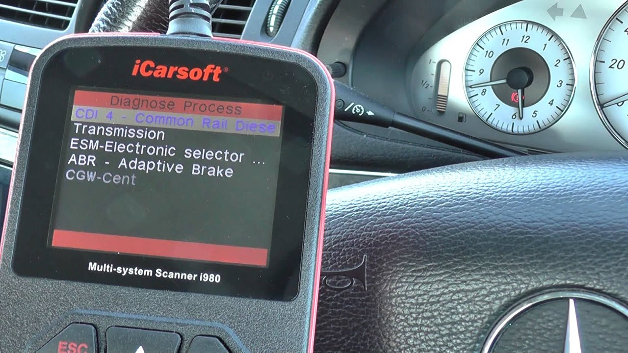 mercedes benz ac air conditioning fault finding reset diagnostic kit [ 1280 x 720 Pixel ]