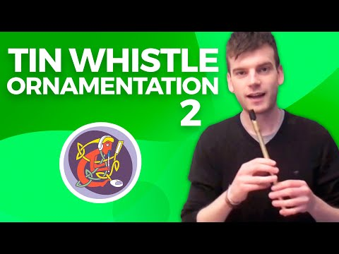 Expert Irish Tin Whistle Lesson: Ornamentation + The New Broom from WWW.OAIM.IE with Thomas Johnston