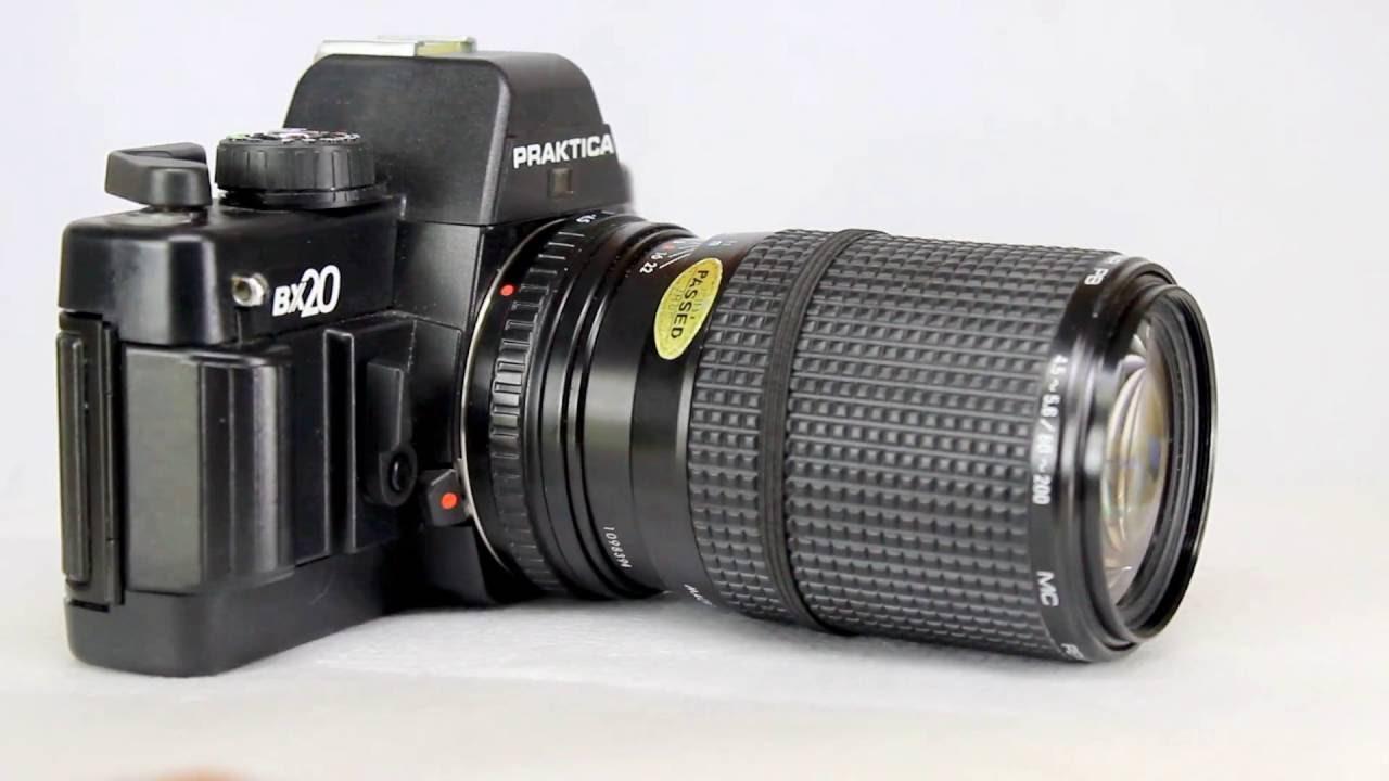 Praktica bx with pentacon prakticar mm zoom mc lens