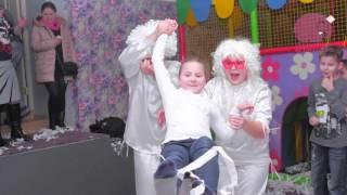 Бумажное шоу на день рождения в Солнечногорске.(, 2016-03-18T15:39:16.000Z)