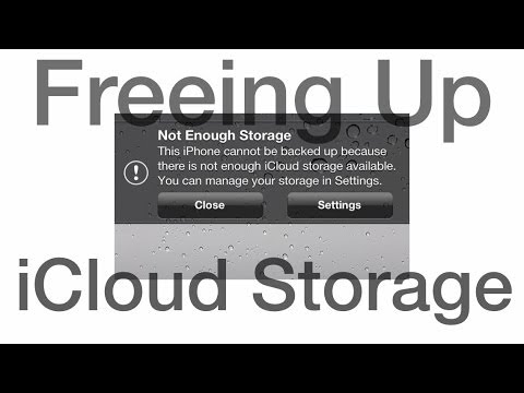 How To Free Up Precious iCloud Storage Space