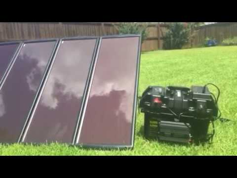 Budget DIY Solar Generator Outperforms Goal Zero Yeti & Anker Powerhouse (Harbor Freight 100 Watt)