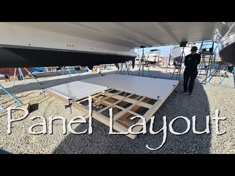 Catamaran HARDTOP Build Part 3 - Onboard Lifestyle ep.137