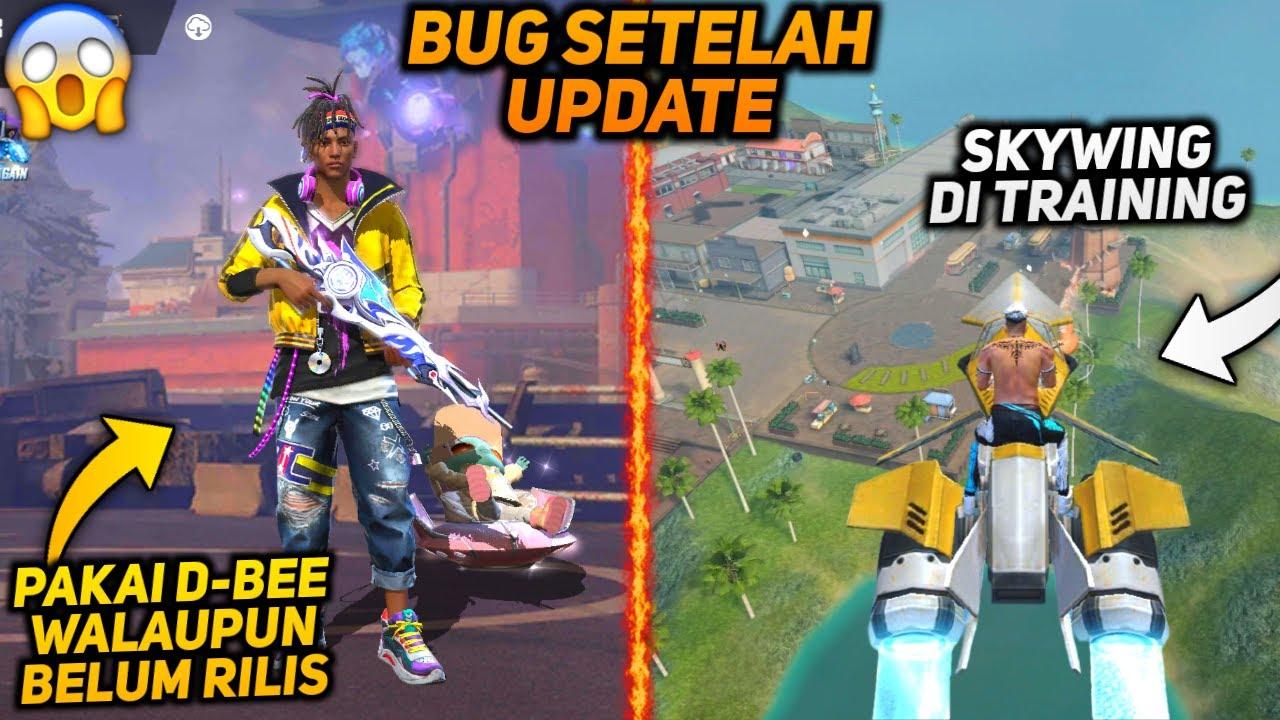 TOP 5 TRIK DAN BUG TERBARU SETELAH UPDATE FREE FIRE - Pakai Char D-BEE Gratis !