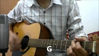 Tu Jo kahe -Guitar cover lesson chords| Palash Muchhal Malik | Yasser Desai | Palak Muchhal