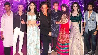 SRK Keeps Commitment attends friend Kareem Morani Son Sangeet