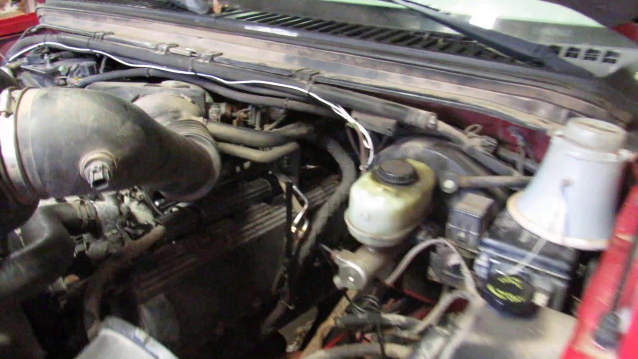 2001 ford f150 transmission dipstick tube