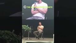 Alexander Dreymon aka Uhtred speaking German at Stuttgart Comic Con