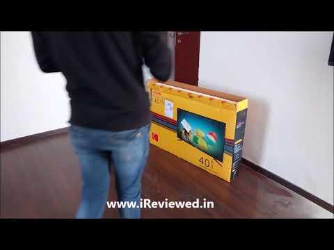Unboxing Kodak 102cm 40 Inch Full HD LED Smart TV  40FHDXSMART
