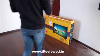 Unboxing Kodak 102cm 40 inch Full HD LED Smart TV 40FHDXSMART