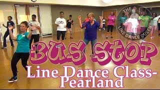 Bus Stop Line Dance (DJ Jubilee)-The Line Dance Queen & Class