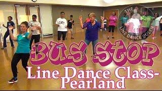 Bus Stop Line Dance (DJ Jubilee)-The Line Dance Queen & Class