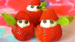 How to Make Strawberries & Cream with Kids