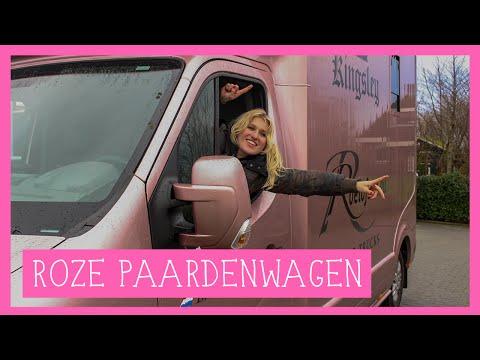 Exclusieve tour door de roze paardenwagen | PaardenpraatTV