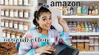 amazon home organization haul! online shopping for our move!
