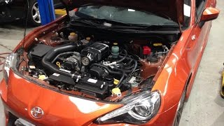 Subaru BRZ / Toyota 86 Sprintex Supercharger Kit Potential Installation Issue