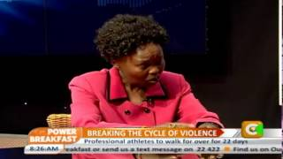 Power Breakfast: Breaking the Cycle of Violence