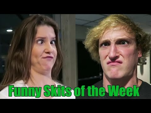 Thumbnail: Funniest Skits of The Week - Ft. King Bach, Logan Paul, Amanda Cerny, Christian DelGrosso & more