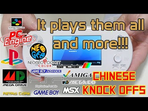 Chinese Knock Offs - The Chinese handheld that plays more than just NES