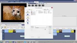 Облака мысли и подписи в программе Ulead VideoStudio 11,5