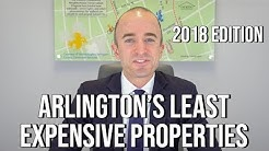 Least Expensive Properties in Arlington, VA! Top 5 Lowest Priced Homes in Arlington