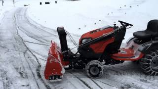 Husqvarna YT42DXLS - Lawn mower and 2-Stage Snowblower - The Epitome Snow Machine for Home Owners