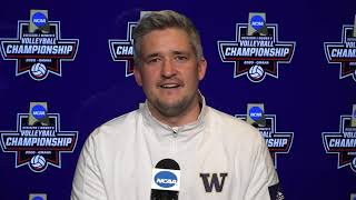 VB: 2020 NCAA Elite Eight Victory - Postgame Press Conference