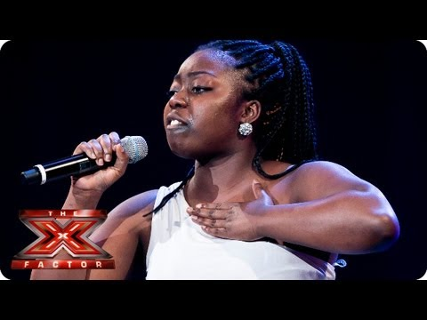 Hannah Barrett sings Id Rather Go Blind  Etta James  Bootcamp Auditions  The X Factor 2013