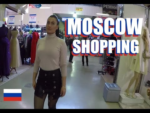 Moscow Shopping: Tour The Dubrovka Market In Moscow Russia