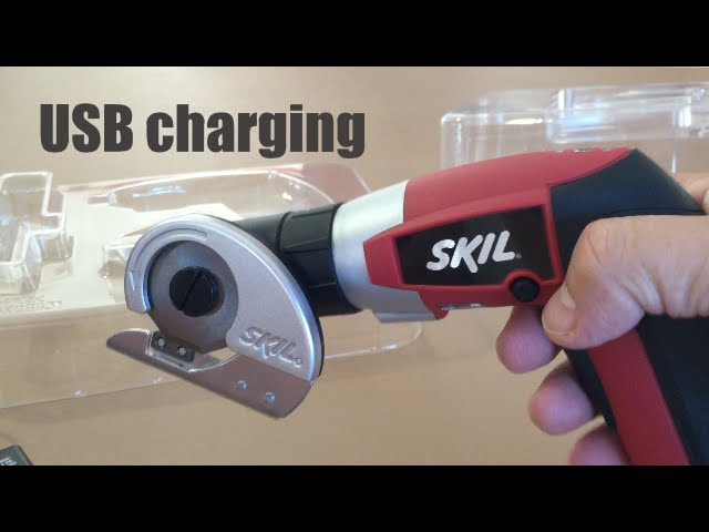Skil 2354 12 Ixo Power Screwdriver With Cutter Attachment Youtube