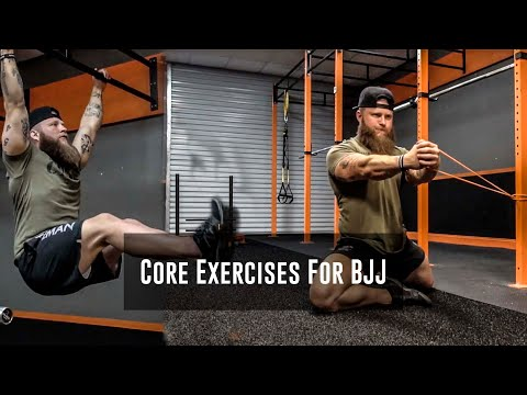 Core Strength Exercises For BJJ Performance