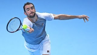 Highlights: Cilic Claws Past Isner At The 2018 Nitto ATP Finals