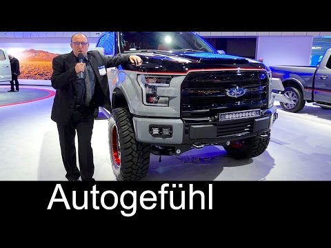 L.A. Motor Show 2016 highlights walkaround with Holger - Autogefühl
