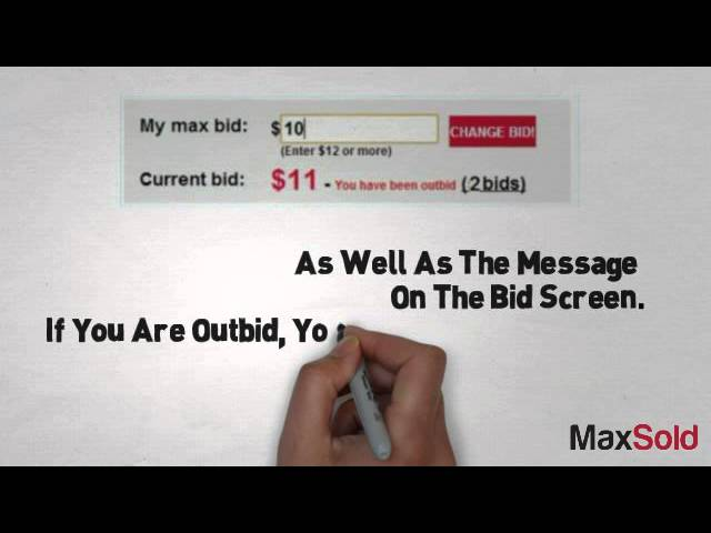 What Is Maximum Bid And Why Are You Outbid Right Away Sometimes Youtube