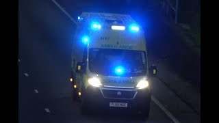 North West Ambulance Service / 2019 Fiat Ducato / Responding