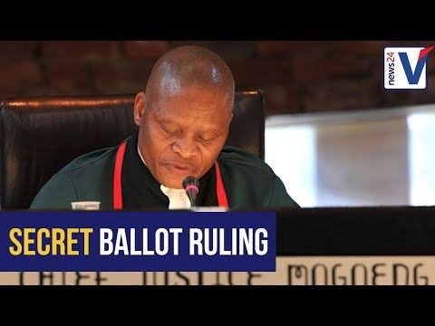ANALYSIS: Here's what the ConCourt secret ballot ruling means...