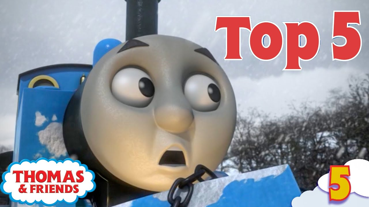Thomas & Friends UK   Top 5 Greatest Rescues!   Best of Thomas Highlights   Kids Cartoon