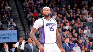 Repeat youtube video Demarcus Cousins' Top 10 Plays With The Sacramento Kings
