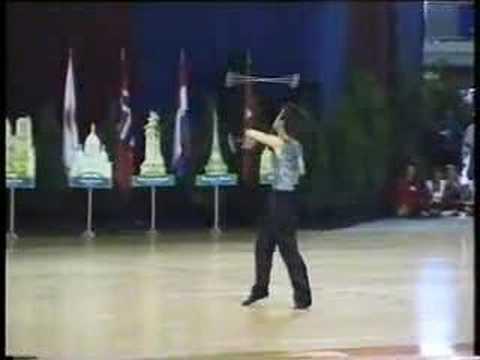 Two Baton 2001 World demonstrations