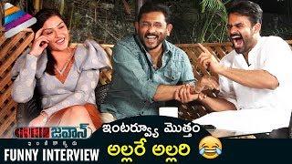 Jawaan Telugu Movie Funny Interview | Sai Dharam Tej | Mehreen | Harish Shankar | BVS Ravi | #Jawaan
