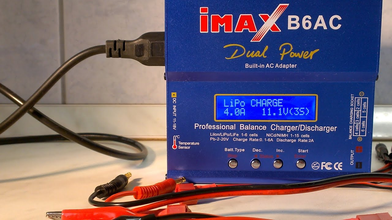 Imax B6ac Lipo Charger For Big Boys Its Charging 2 6s Selis Balancing Scooter S2 Batteries