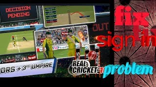 How to fix real cricket 18 sign in problem easy [step by step ]