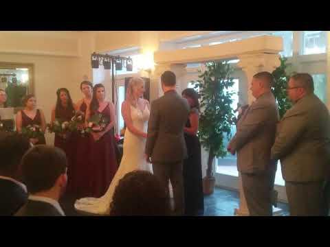 Ron & Tori's Wedding Ceremony Feb 2nd 1