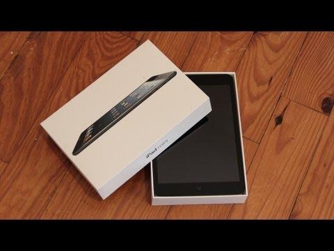 iPad Mini Unboxing (Black)
