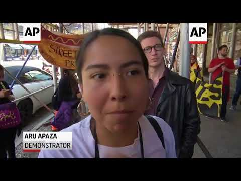 May Day Protesters March In Downtown Manhattan