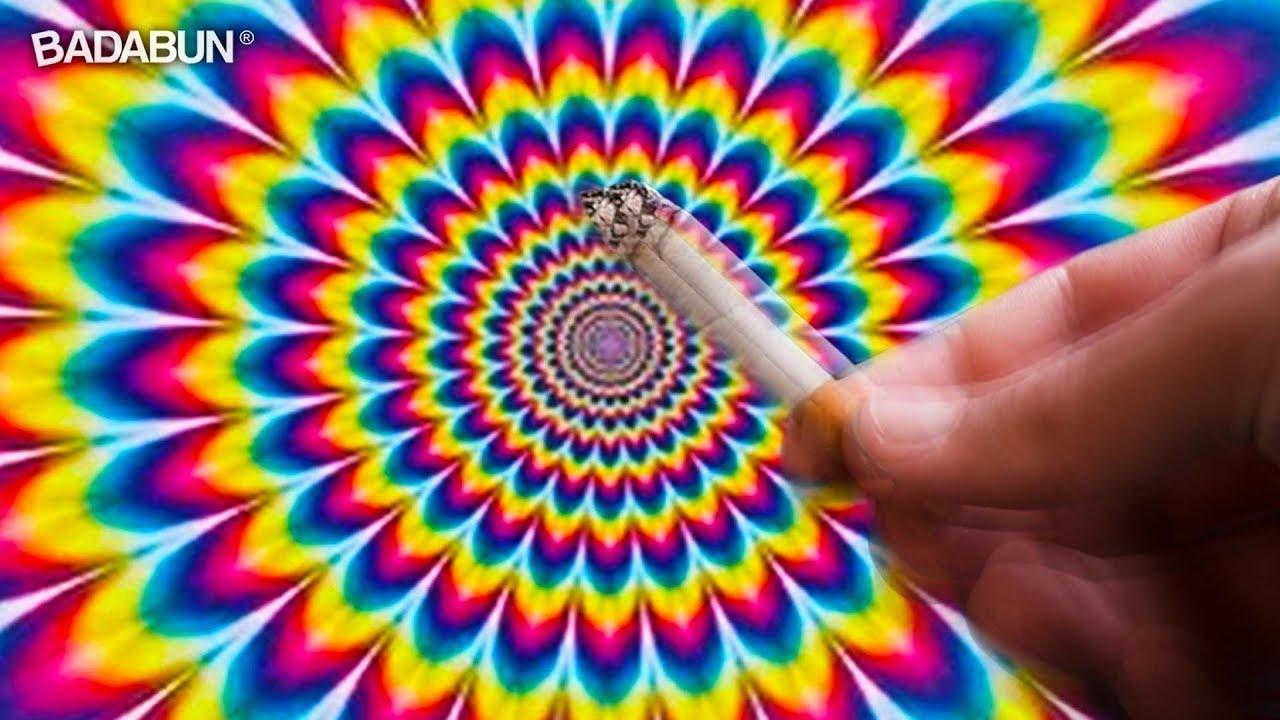 3 ilusiones pticas que te har n sentir drog do youtube for Ilusiones opticas en el suelo